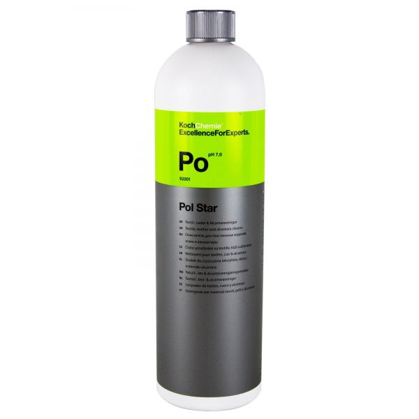 KOCH CHEMIE Po Pol Star Textilreiniger Lederreiniger Alcantarareiniger 1 L Liter