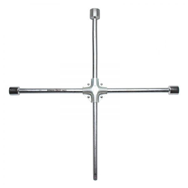 """BGS LKW-Radkreuz Vierkant SW 24 x 27 x 32 x 20 mm (3/4"""""""")"""