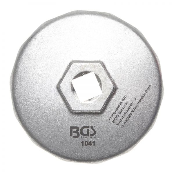 BGS Ölfilterschlüssel 14-kant Ø 74 mm für Audi, BMW, Mercedes-Benz, Opel, VW