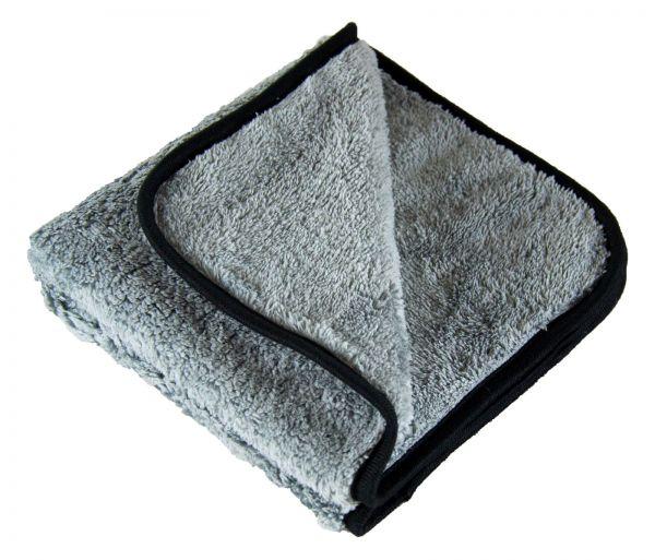 PARTS4CARE Mikrofasertuch Poliertuch Microfasertuch Tuch grau 500 GSM 40 x 40 cm