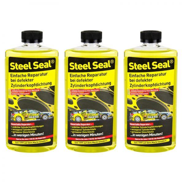 3x STEEL SEAL Zylinderkopfdichtung Zylinderkopfreparatur über 4,0 Liter 473 ml
