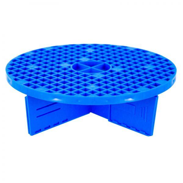 Schmutzfilter Schmutzauffanggitter Eimereinsatz blau 22-28 cm verstellbar 1 Stk