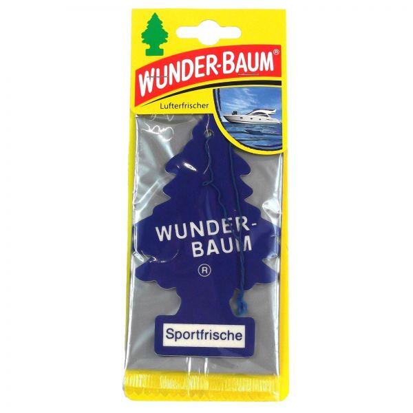 WUNDERBAUM Sportfrische Orginal Lufterfrischer Duftbaum Fahrzeugduft 1 Stk