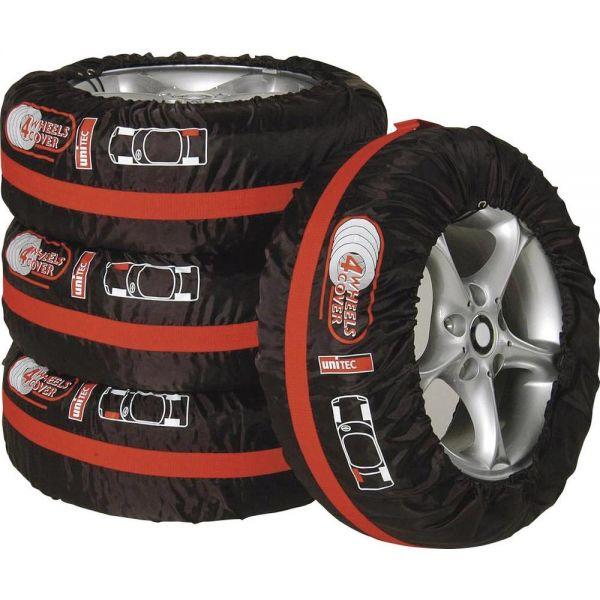 Unitec Reifen Tasche Reifentasche Reifenhülle Schutzhülle Reifenbeutel 4 Stk