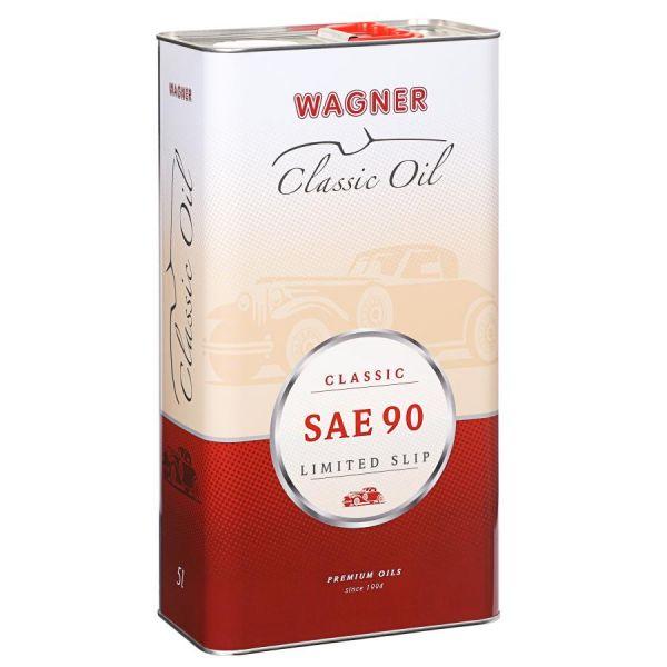WAGNER SPEZIALSCHMIERSTOFFE Sperrdifferential Hypoid-Getriebeöl SAE 90 5 L Liter