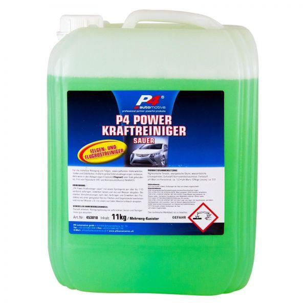 P4 Power Kraftreiniger sauer Felgenreiniger Reiniger Flugrostentferner 11 kg