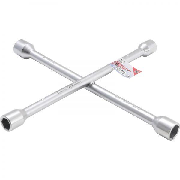 """BGS Rad-Kreuzschlüssel für PKW SW 17mm x 19 mm x 22 mm x 13/16"""""""""""