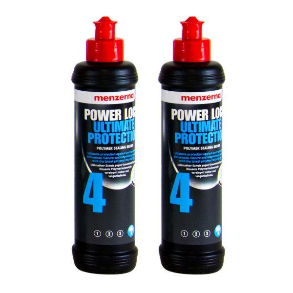 2x MENZERNA Power Lock Ultimate Protection 4 Lackversiegelung Versiegelung 250ml