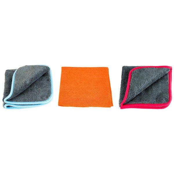 LIQUID ELEMENTS Silverback Trockentuch & Red Snapper & Waxer Mikrofasertuch