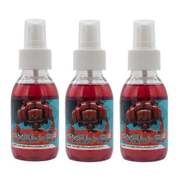 3x LIQUID ELEMENTS Smellow Cherry Tec Innenraumduft Lufterfrischer Duft 100 ml