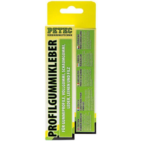 PETEC Profilgummikleber Gummikleber Klebstoff Kleber Kontaktkleber 70 ml