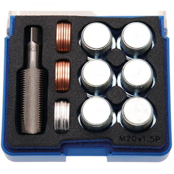 BGS Reparatursatz für Öl-Ablass-Gewinde M20 x 1,5 mm