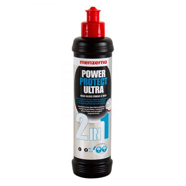 MENZERNA Power Protect Ultra 2in1 Hochglanzpolitur Lackversiegelung 250 ml