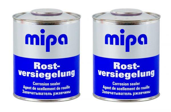 2x MIPA Rostversiegelung Rostschutz Roststopper Rostversiegelung Rost 750 ml