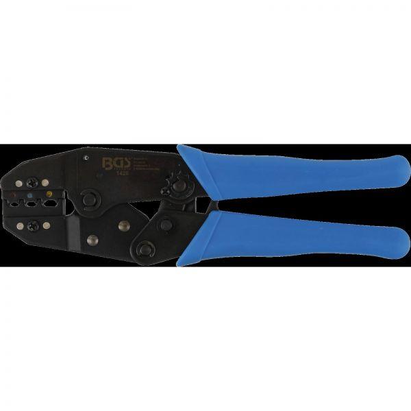BGS Kabelschuhzange Ratschenfunktion isolierte Kabelverbinder 0,5 - 6 mm²