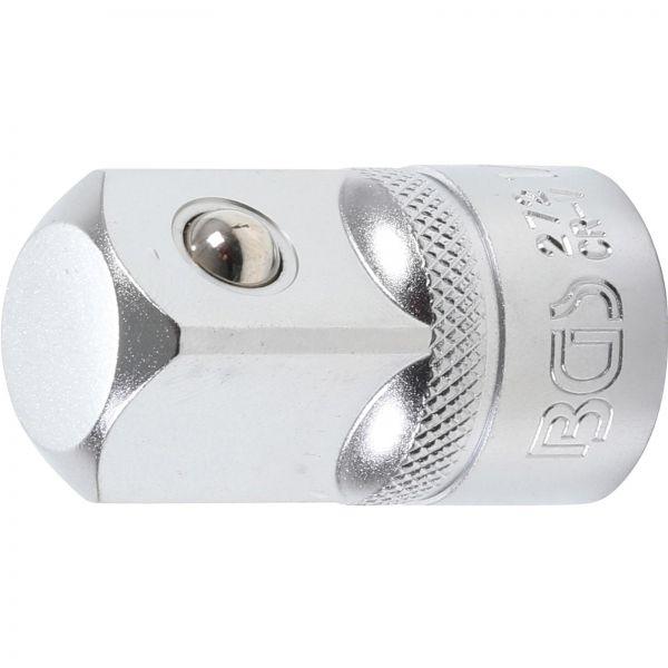 "BGS Steckschlüssel-Adapter 12,5 mm (1/2"""") - Außenvierkant 20 mm (3/4"""")"