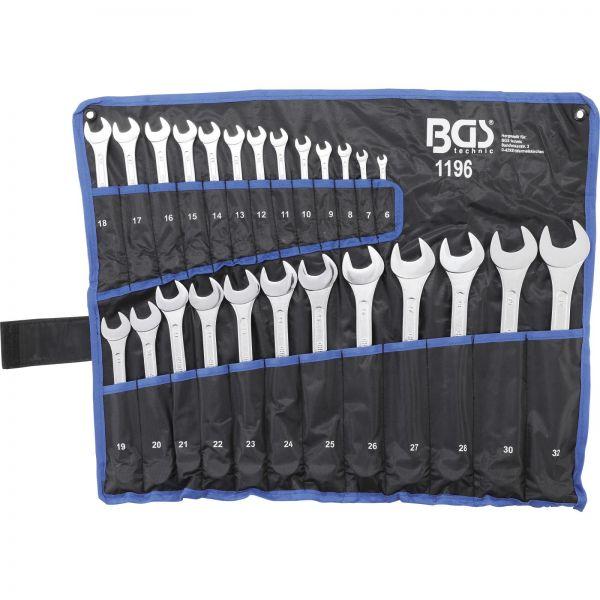 BGS Maul-Ringschlüssel-Satz SW 6 - 32 mm 25-tlg.