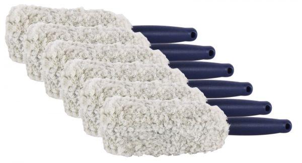 6x Mikrofaser Felgenbürste Reinigungsbürste Waschbürste Felgen Bürste 29 cm 1Stk