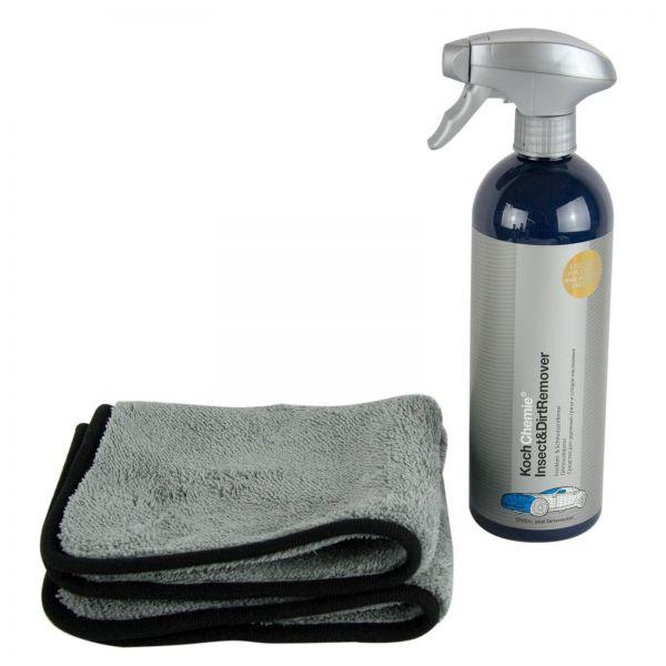 KOCH CHEMIE Insect & Dirt Remover Insektenentferner 750 ml & XXL Mikrofasertuch