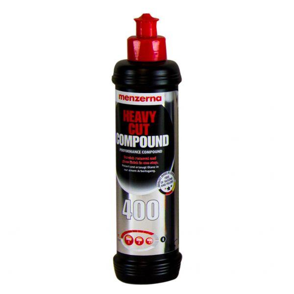 MENZERNA Heavy Cut Compound 400 Schleifpolitur Autopolitur Schleifpaste 250 ml