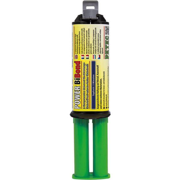 PETEC Power BiBond 2-Komponenten Hochleistungsklebstoff Klebstoff Kleber 24 ml