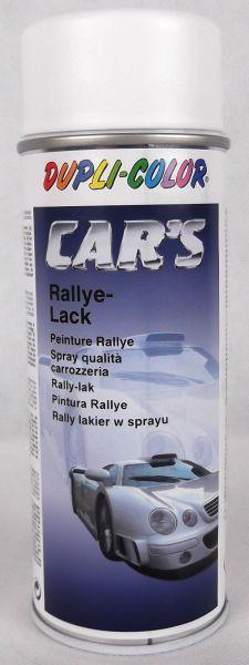 DUPLI-COLOR Car's Cars Rallye-Lack weis weiss weiß seidenmatt 400 ml