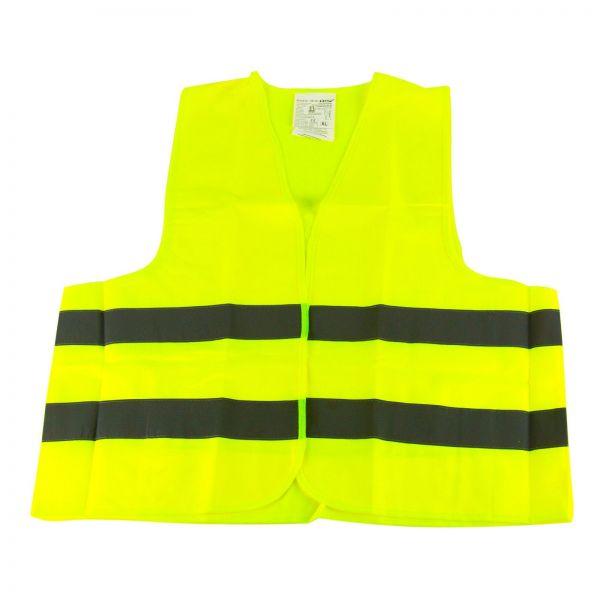 KALFF Warnweste Unfallweste Pannenweste Sicherheitswarnweste Gelb 1 Stk