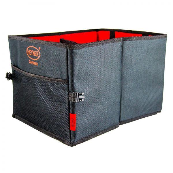 HEYNER Premium Kofferraumtasche Kofferraumbox Tasche Aufbewahrung faltbar 1 Stk
